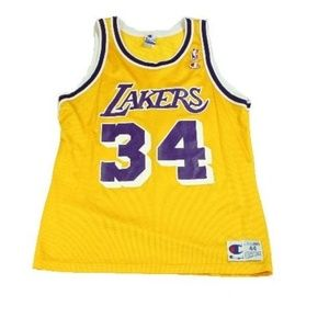 Gentlemens' Lakers NBA # 34 SIZE 44 L O'Neal